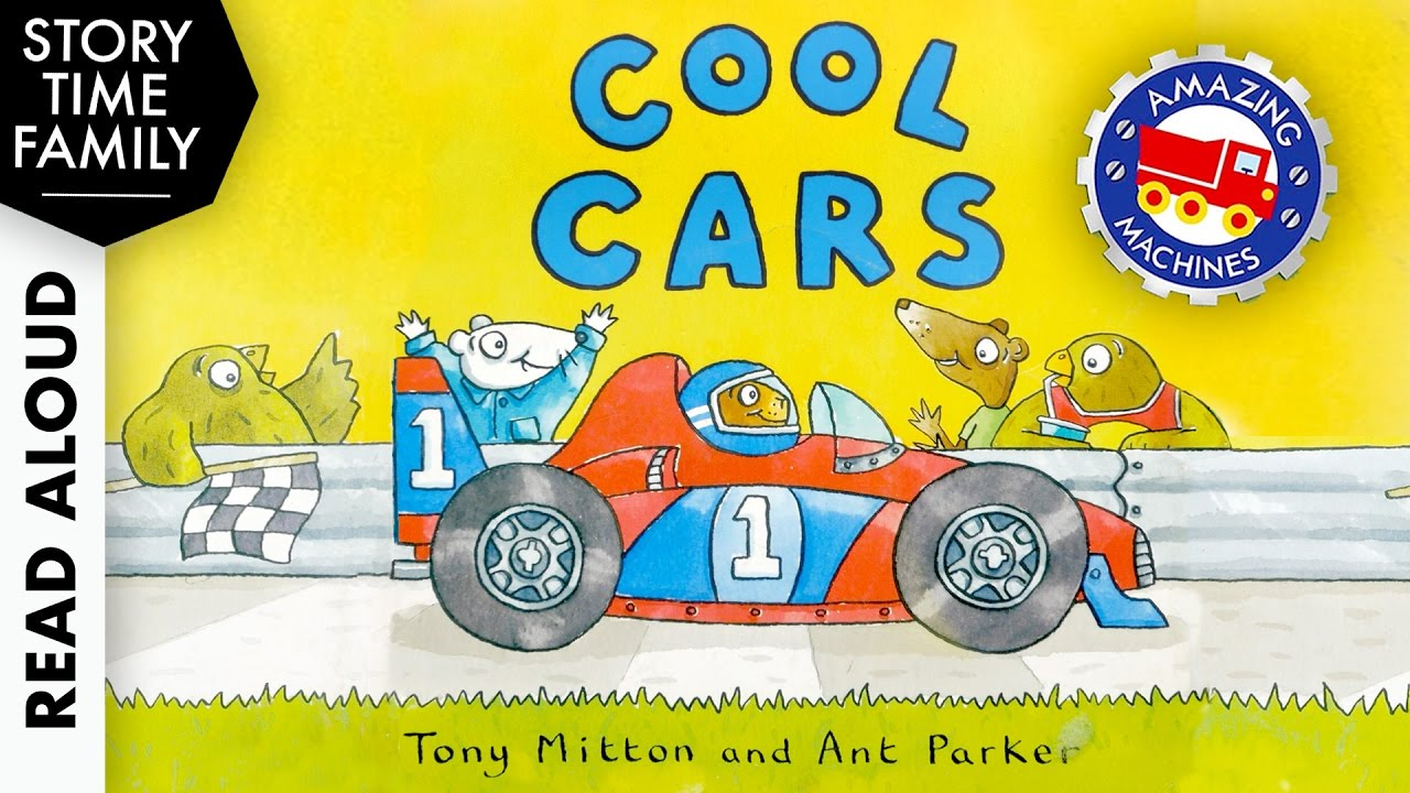 COOL CARS (Amazing Machines) by Tony Mitton & Ant Parker - Read Aloud Story