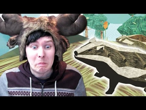 BADGER SIMULATOR?? - Phil Plays: Shelter