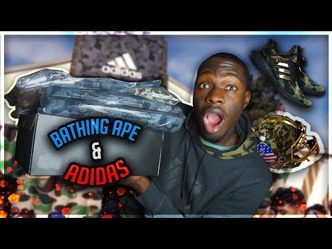 BAPE X ADIDAS ATL PICK UP VLOG🔥 (SPENT $1100+)💰