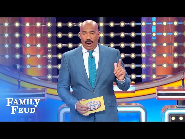 Men, NEVER say this to a woman!   Family Feud