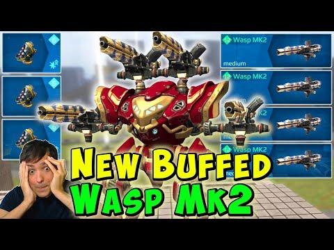 NEW BUFFED WASP SPECTRE Mk2 Corrosion War Robots Gameplay WR