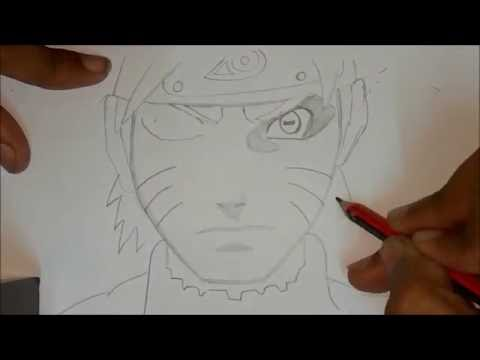 HOW TO DRAW NARUTO STEP BY FOR BEGINNERS