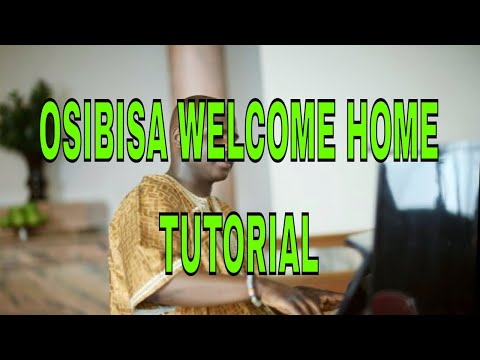 How to play Osibisa Welcome home on piano - Adavance Highlife Piano Tutorial