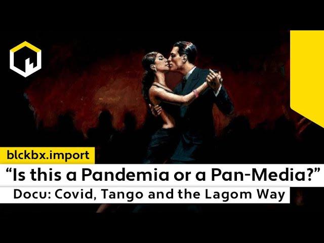 """""""Is this a Pandemia or a Pan-Media"""" vroeg Claudia Nye aan Anders Tegnel…"""