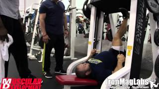Jon Delarosa Trains Legs 4 Weeks Out - Mr. Olympia 2014