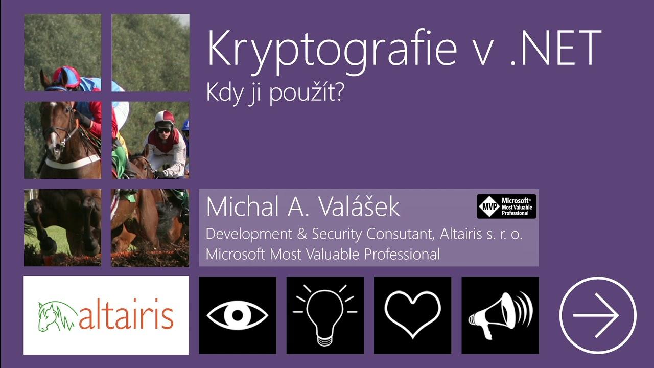 Kryptografie v .NET: Kdy ji použít?