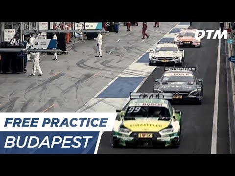 DTM Budapest 2017 - Free Practice 1 - RE-LIVE (Deutsch)