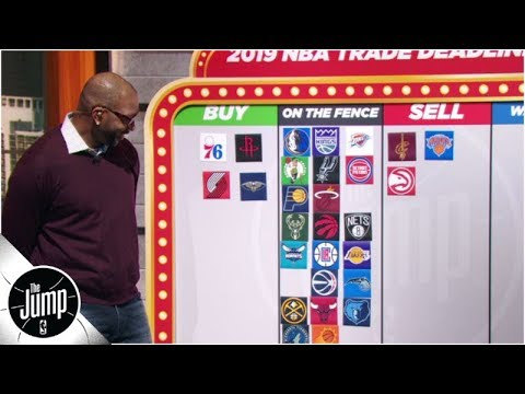2019 NBA trade deadline big board: Who should be buyers or sellers? | The Jump thumbnail