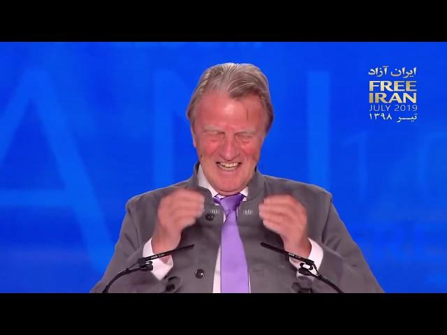 MEK Free Iran rally in Albania - Dr. Bernard Kouchner speech in annual rally of Iranian opposition
