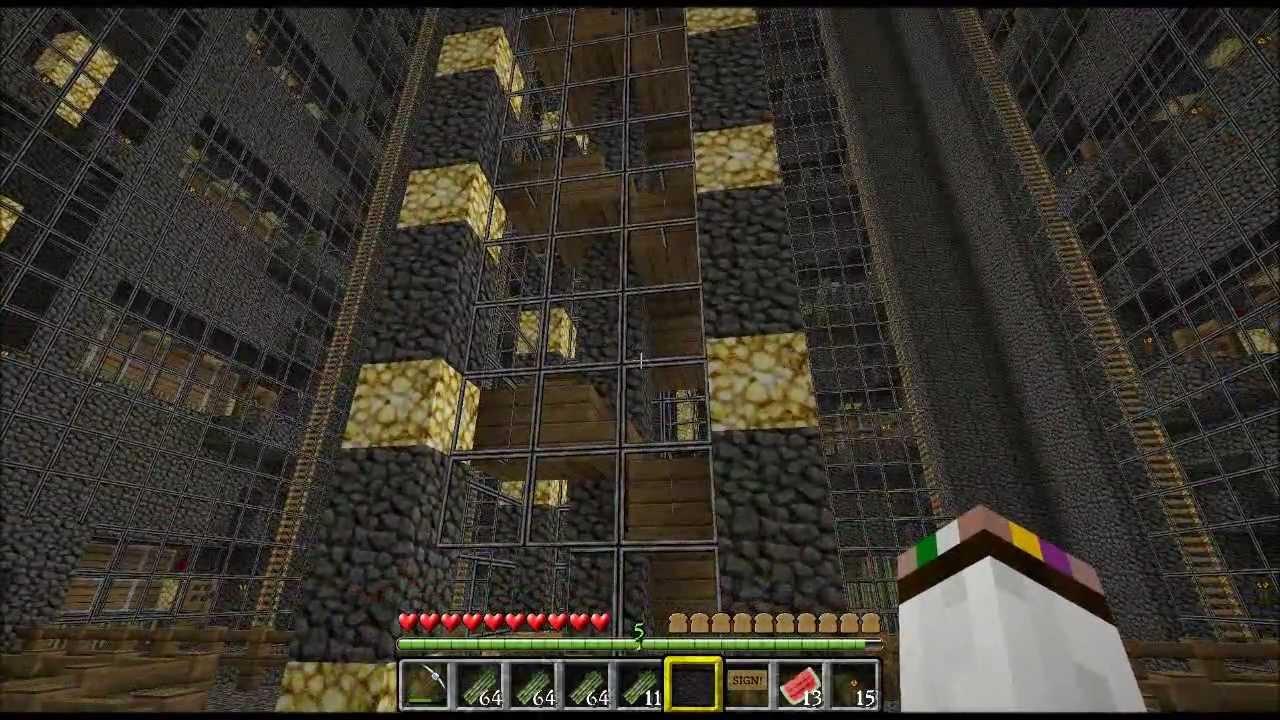 Minecraft Massive Underground Sugarcane Facility Youtube