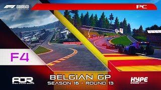 F1 2018   AOR Hype Energy F4 League   PC   S16   R13: Belgium GP