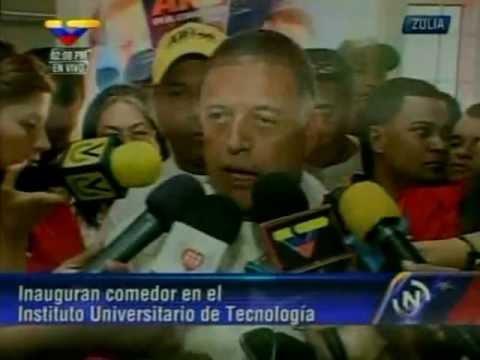 """""""Vamos a concluir el aula magna de la Universidad del Zulia"""": Arias Cárdenas"""