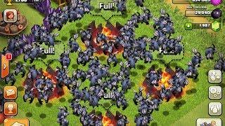 Clash of Clans - 135 Level 5 Minion Attack Epic WIN!!!!!