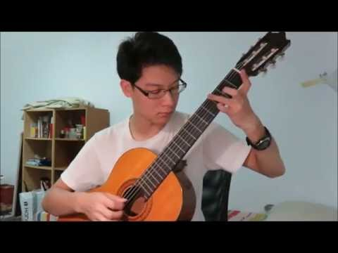 Michael Card - El Shaddai (classical guitar)