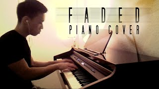 Alan Walker - Faded [Fade] (piano cover by Ducci & lyrics)