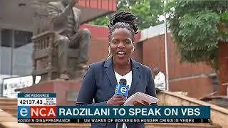 Radzalani to speak on VBS