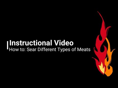 How to Ep 3: Different Searing methods