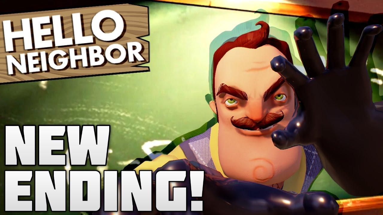New Buried Alive Update Ending Hello Neighbor Gameplay
