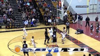 LHS Basketball vs Cambridge R&L 2018