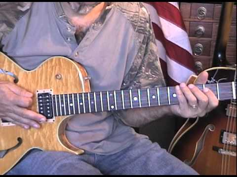 Ted Nugent Guitar Lesson Hey Baby Cover