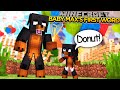 BABY MAX'S FIRST WORD!!! - Minecraft - Little Donny Adventures.
