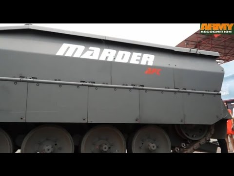 Rheinmetall Marder Evolution APC at INDODEFENCE 2014 defense
