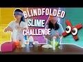 Bikin Slime Sambil Tutup Mata Blindfolded Sime Challenge