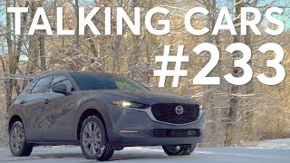 2020 Mazda CX-30 & 2020 Hyundai Venue; Is It Smart to Buy a Used Car Online? | Talking Cars #233