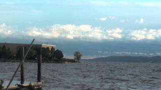 Hurricane Irene @ The Ossining Boat And Canoe Club 8/28/11
