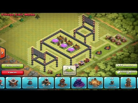Clash Of Clans |  EPIC 3D TROLL Base - 3D Base -Awesome Base Design * Must Watch *