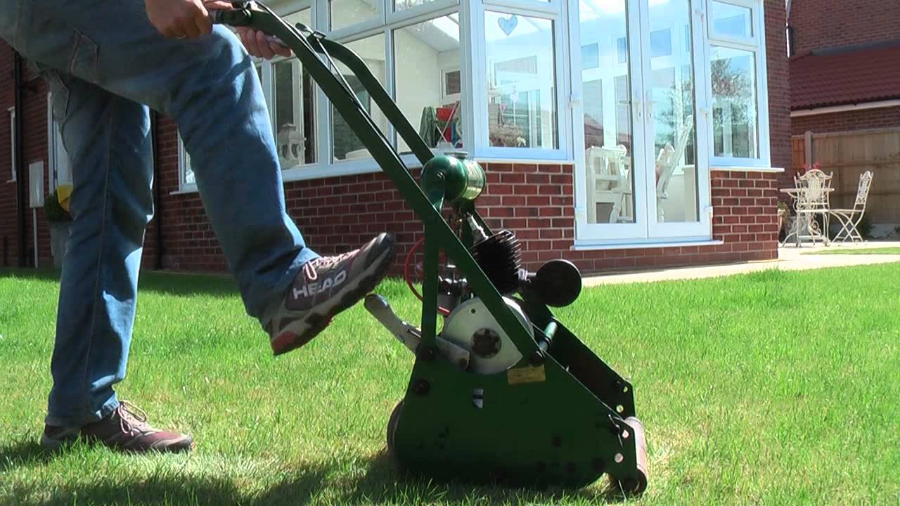 Vintage 1953 Atco Lawn Mower Youtube