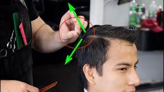 Como cortar cabello que se para por todo lado