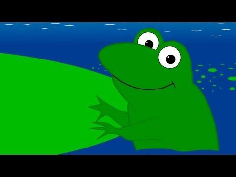 çocuk şarkıları  küçük kurbağa orijinal müzik ve sözleri  çizgi film