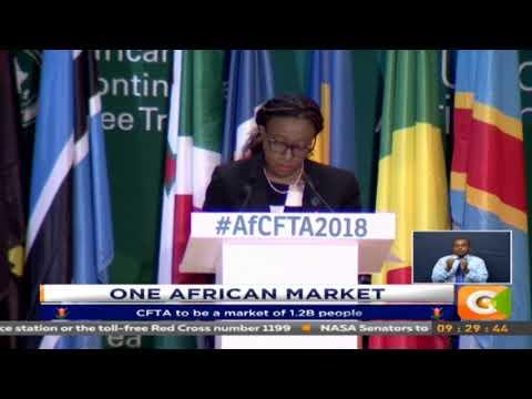 One African Market draws closer