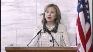 Secretary Clinton and Italian Foreign Minister Frattini Deliver Remarks