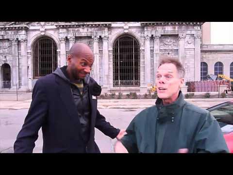 Detroit - Michael Hodges at Central Station