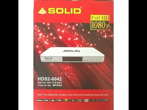 SOLID Replaced Set-Top Box HDS2-6042 to IT Box HDS2-6069