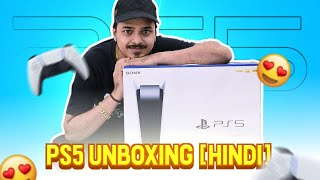 UNBOXING SONY PLAYSTATION 5 AND ALL ACCESSORIES [HINDI] || FIRST LOOK 8BIT-THUG