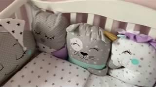 Бортики в детскую кроватку нужны или нет? Кроватка детская с маятником нужна или нет?