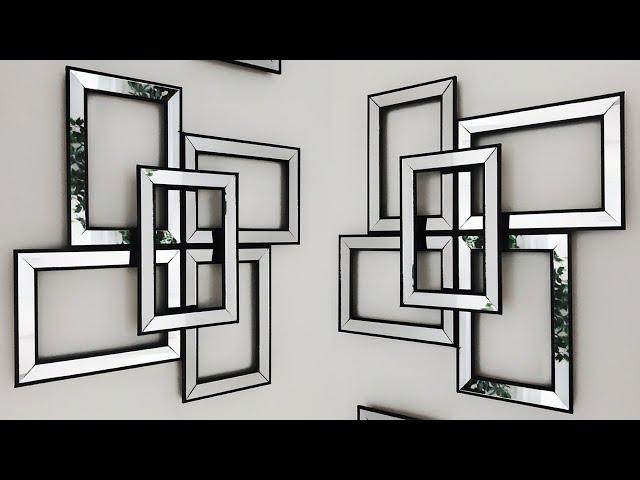Diy Dollar Tree Mirror Wall Decor So Easy To Make