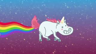 Magic Farts Are Flying Through The Sky! Magical Unicorn Farts Sound Machine Keychain By Gagster