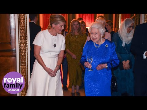 The Queen Gives a Reception at Buckingham Palace for the Diamond Jubilee Trust
