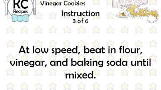 Vinegar Cookies - Kitchen Cat