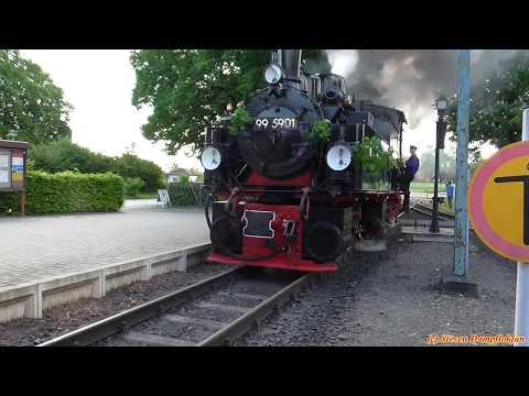 Harzer Schmalspurbahn 2017 / Vatertagsfahrt mit dem Freundeskreis Selketalbahn e.V. (25.05.2017)