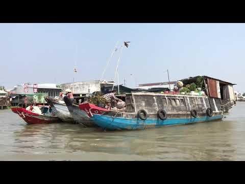 Thuyết minh : Chợ Nổi bán sỉ Cái Bè - Tiền Giang ....