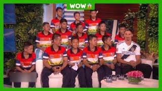 Jongens uit Thaise grot ontmoeten Zlatan Ibrahimovic