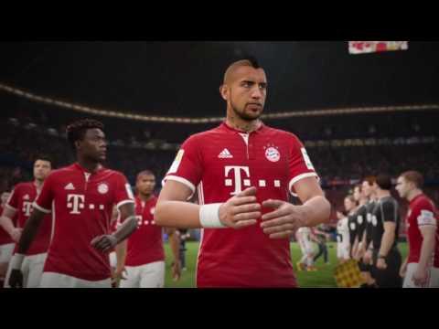 FIFA 17 Disponible Sur PS4 - Le FC Bayern Dans FIFA 17