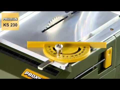 Proxxon 27006 Bench circular saw KS 230
