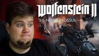 ПЕРВЫЙ ВЗГЛЯД ОТ БРЕЙНА - Wolfenstein II: The New Colossus