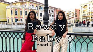 Maari 2- Rowdy Baby dance by Teen Sisters